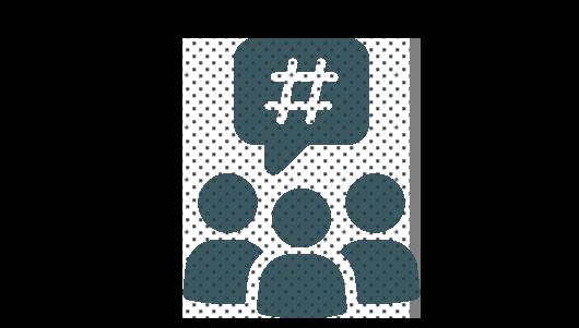 Hashtag, Social