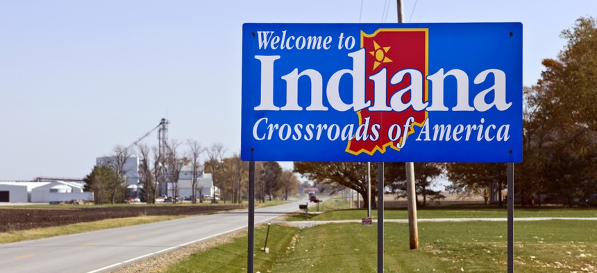 Unwelcome times in the Hoosier State.