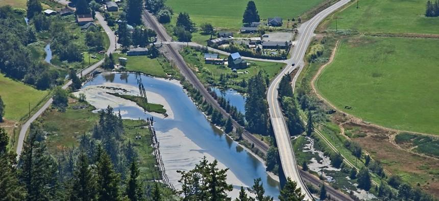 Blanchard, Washington, in Skagit County