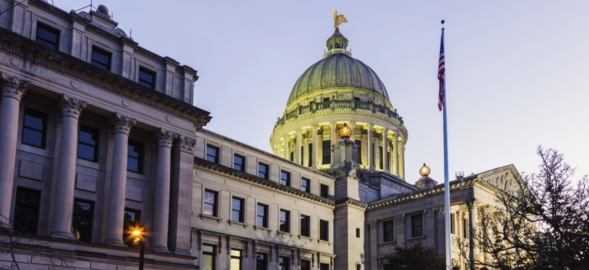 Mississippi is the state identified as the most reliant on federal aid in a new Tax Foundation analysis.