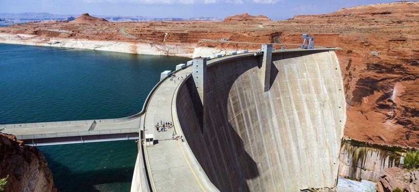 Glen Canyon Dam near Page, Arizona