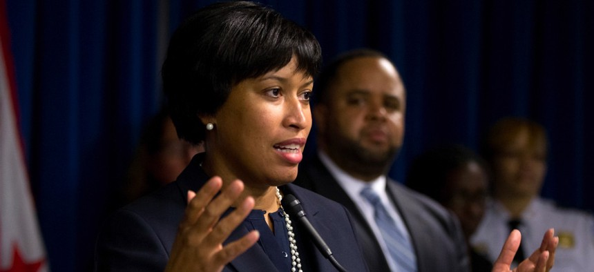 Washington Mayor Muriel Bowser speaks Dec. 15 about the release of police body camera footage related to the death of special education teacher Alonzo Smith.