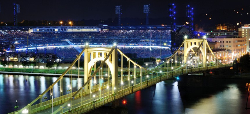 The city of Pittsburgh is building bridges to its startup community.