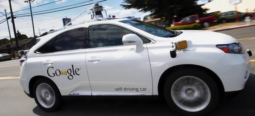 Google's self-driving Lexus