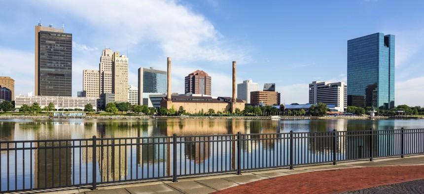 Toledo, Ohio, the seat of Lucas County.