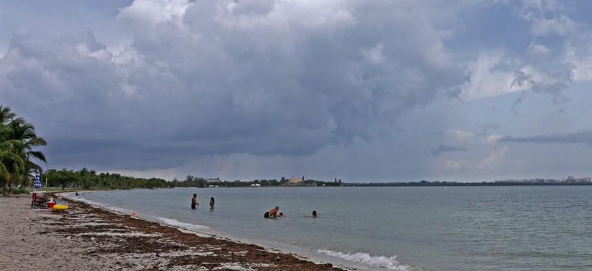 Hobie Beach in Miami