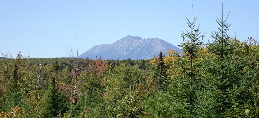 Mt. Katahdin in Maine