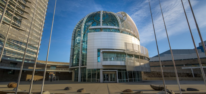 City Hall in San José, which uses priorities-based budgeting.