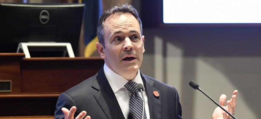 Kentucky Gov. Matt Bevin.