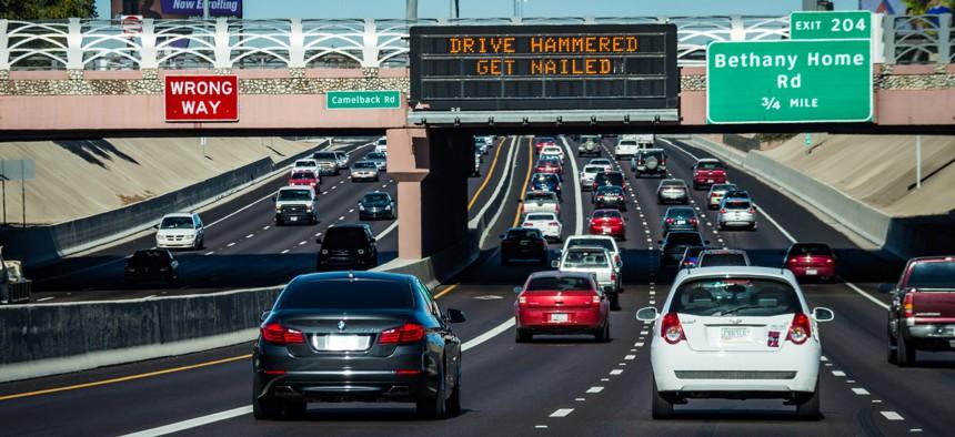 Interstate 17 in Phoenix