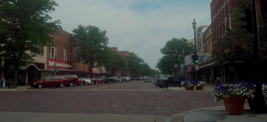 Central Avenue in Kearney, Nebraska