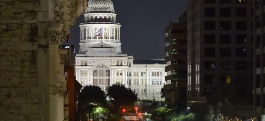 Congress Avenue in Austin