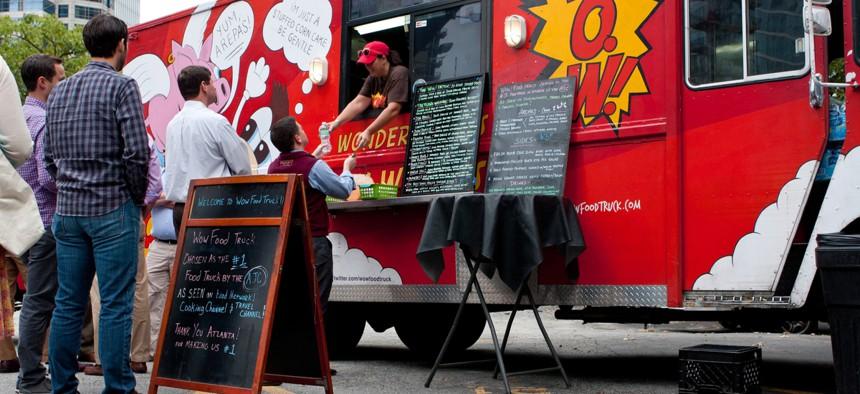 A food truck in Atlanta
