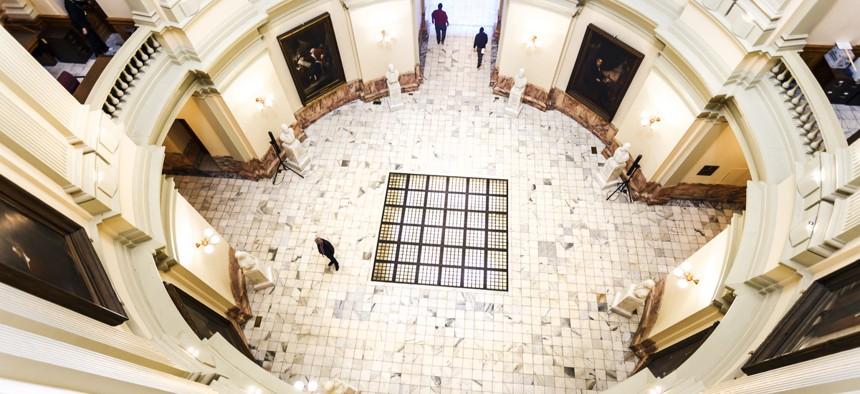 The Rotunda of the Georgia State Capitol in Atlanta