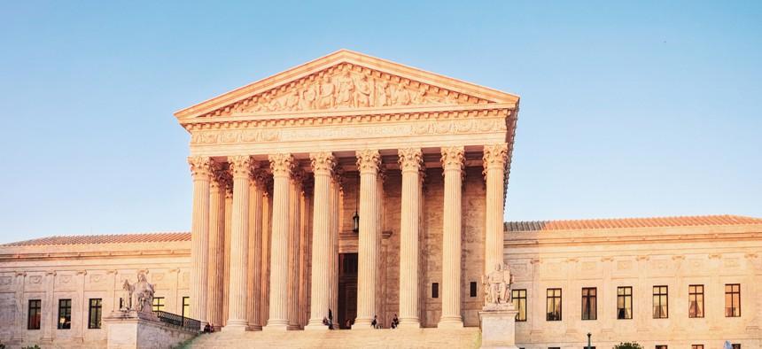The U.S. Supreme Court in Washington, D.C.