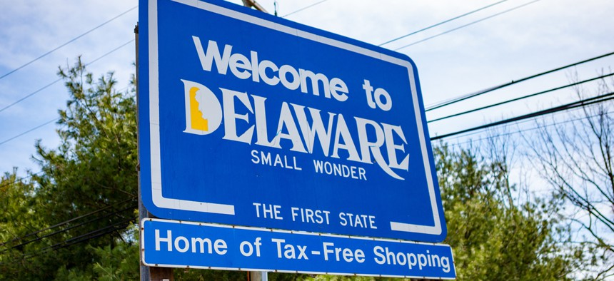 Welcome to Delaware.