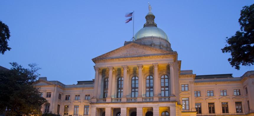 The Georgia State Capitol in Atlanta