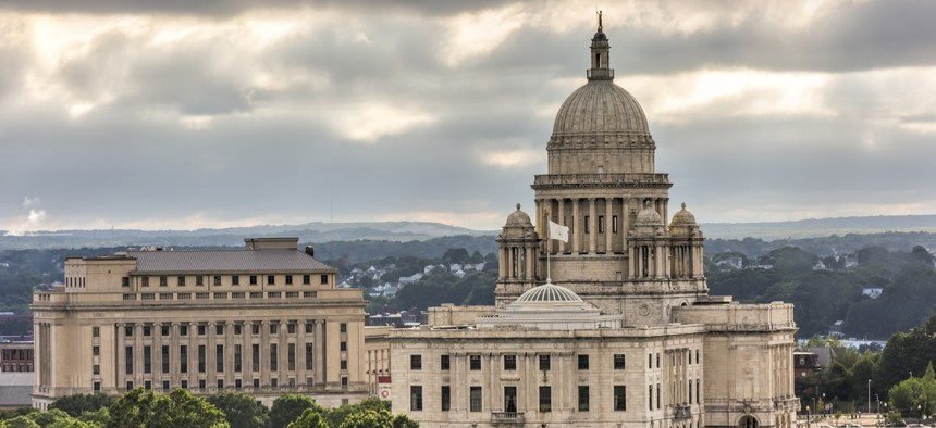 The Rhode Island State Capitol in Providence.