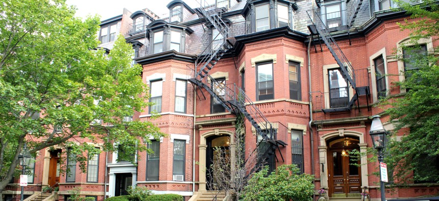 Townhomes in Boston