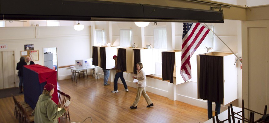 Voting in Maine in 2012