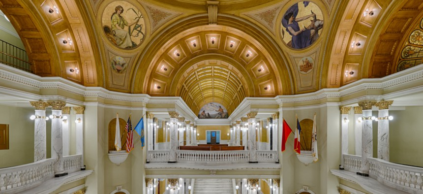 The South Dakota State Capitol in Pierre.
