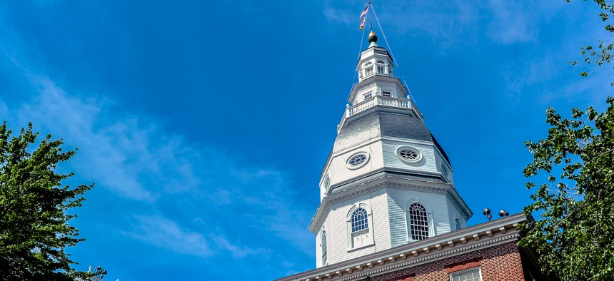 The Maryland Statehouse in Annapolis.