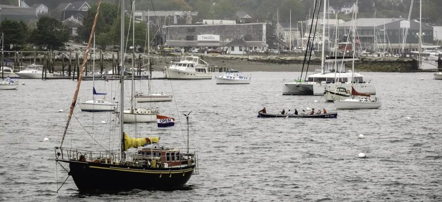 Balfast, Maine sits along Penobscot Bay