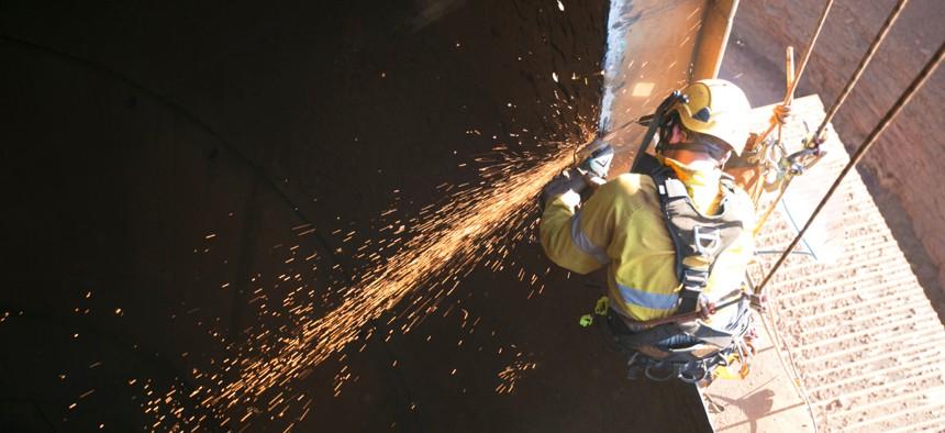 A Michigan group is looking to train women as welders.