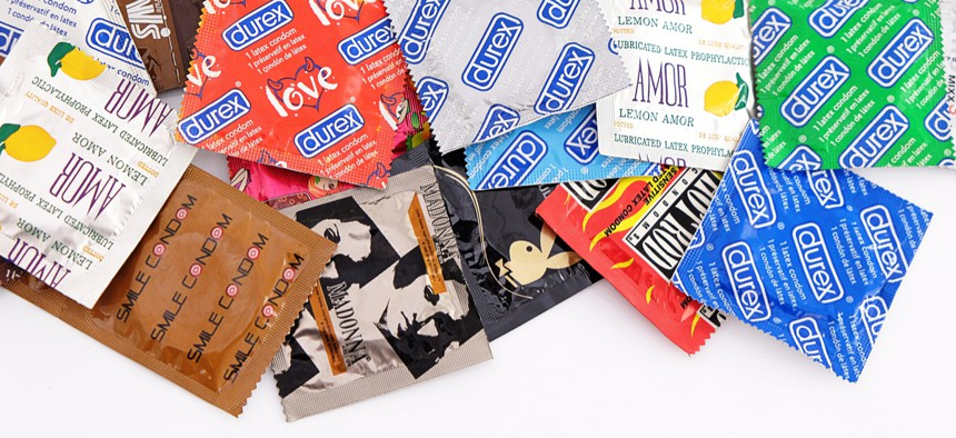Condoms are initially available at four schools, but could expand to more.