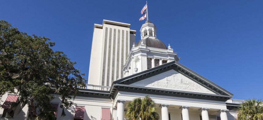The Florida State Capitol in Tallahassee.