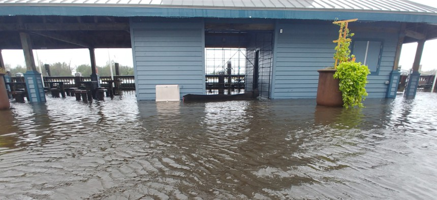 Hurricane flooding leads to standing water, the preferred breeding ground for mosquitoes.