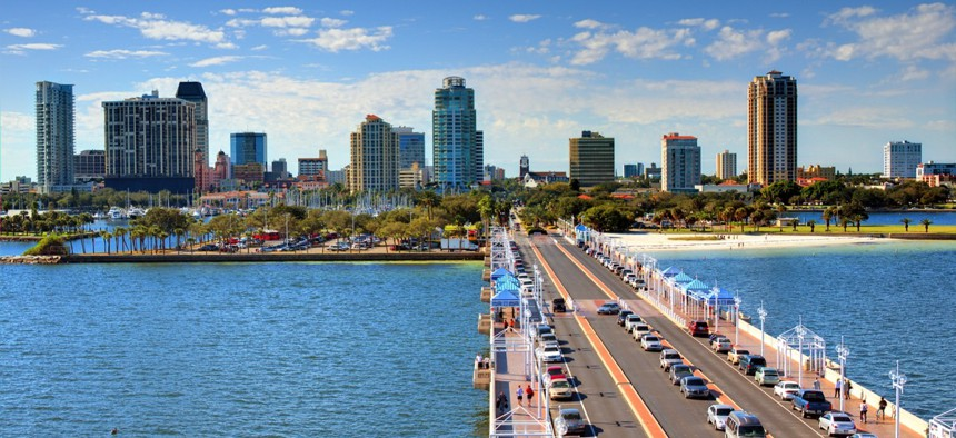 Pinellas County, Florida created a GIS steering committee in 2010.