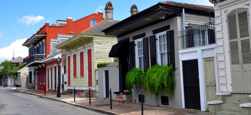 """New Orleans' """"resilient cities"""" strategy is focused on climate change."""