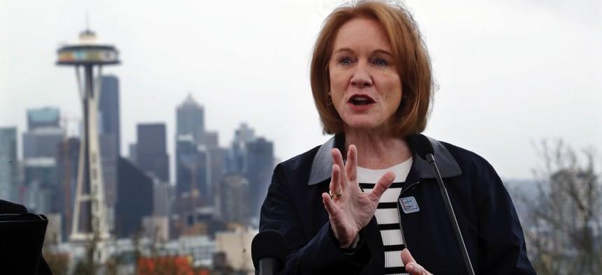 Seattle Mayor Jenny Durkan