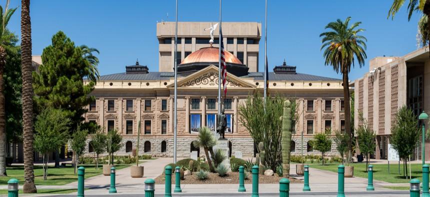 The Arizona State Capitol in Phoenix
