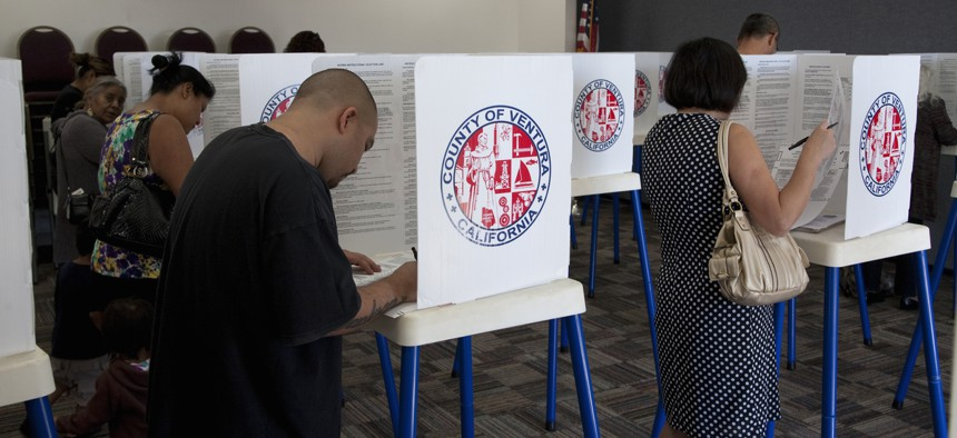 DHS will open a virtual chat room open on election day to local officials.