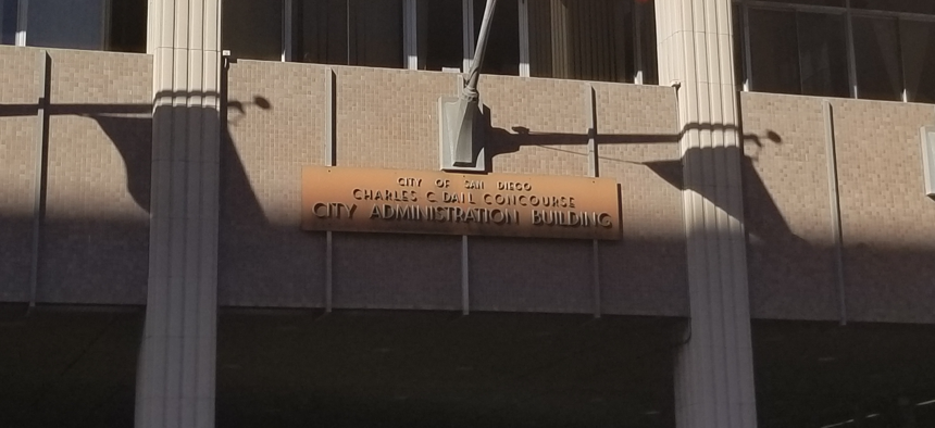 The San Diego City Administration Building