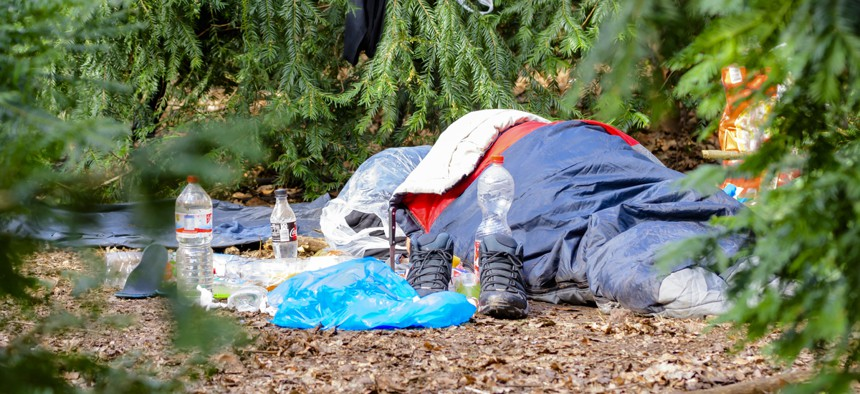 Homeless youth in rural areas are more likely to stay with friends or sleep outside than visit shelters, the report found.
