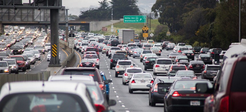 Larger cities typically have more congestion, but other factors come into play, the report says.
