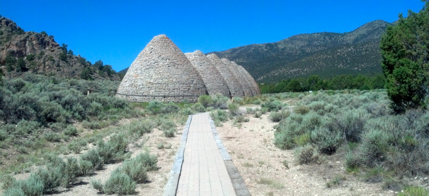 The Ward Charcoal Ovens State Historic Park near Ely, Nevada