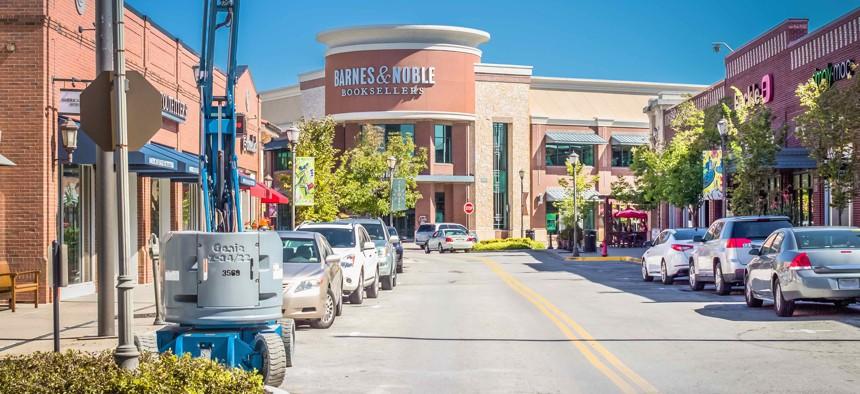 The Zona Rosa shopping plaza in 2016.
