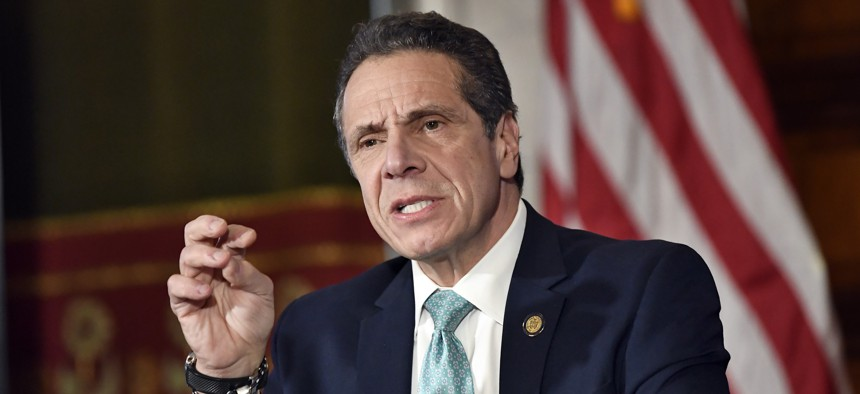 New York Gov. Andrew Cuomo on Monday talks about his upcoming meeting with President Donald Trump.