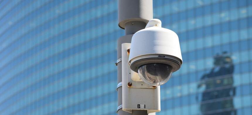 Chicago Police Department police security camera
