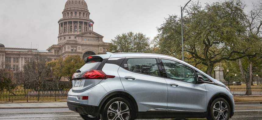 Maven's first all-electric fleet of shared vehicles for freelance driving launched in Austin, Texas.