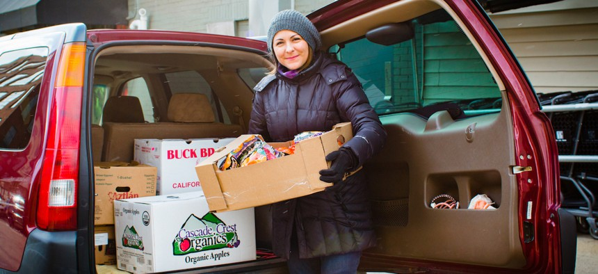 The Food Rescue Hero app works like Uber for food donations, connecting donor organizations with volunteers who deliver the goods to recipients.