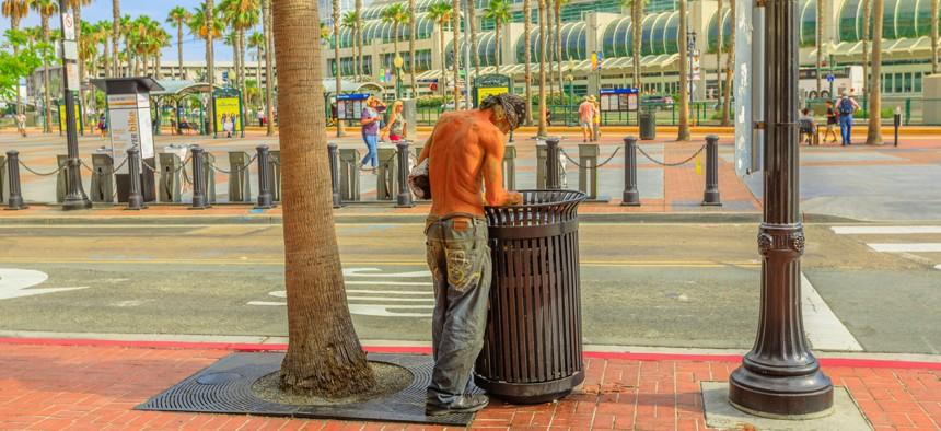 Gaslamp Quarter, San Diego.