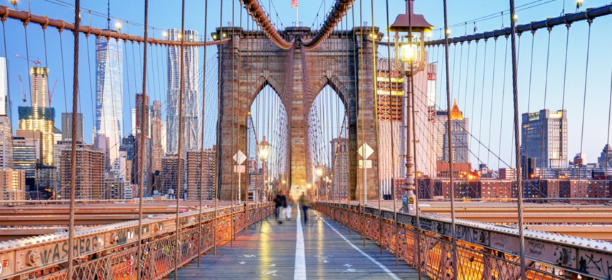 The Brooklyn Bridge is one of nearly 235,000 bridges requiring structural rehabilitation, repairs or replacement.