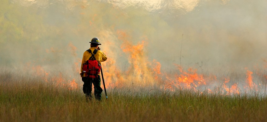 Controlled burns are difficult to plan.