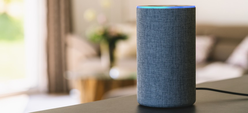 In cities across the country, Alexa can answer questions about government meetings, trash pick-ups and building hours, among other things.