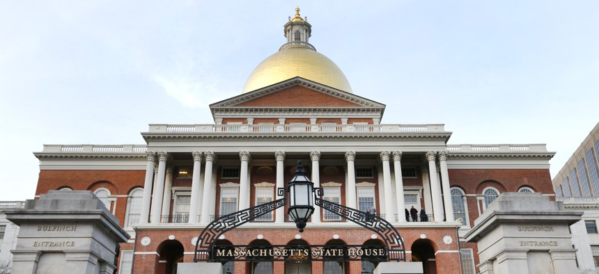 Legislators at the Massachusetts Statehouse repealed the welfare cap in their state.
